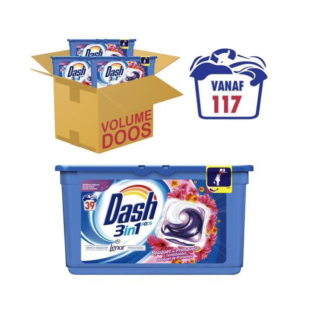 Dash 3 in 1 pods lenteboeket voordeelverpakking!