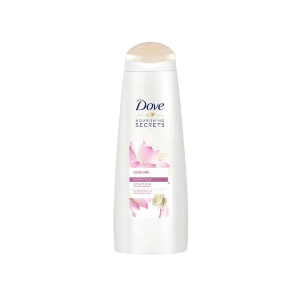 Dove Nourishing Glow shampoo