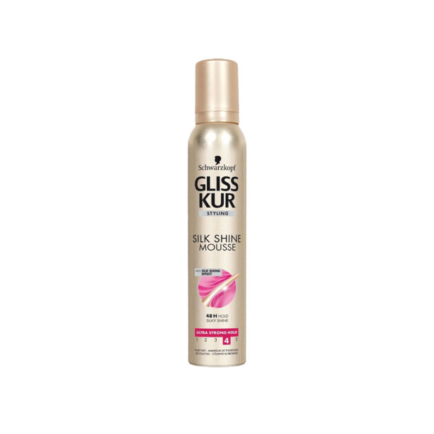 Schwarzkopf Gliss Kur Silk Shine Mousse