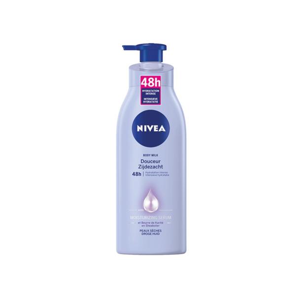 Nivea Body Milk Zijdezacht Met Pomp 400ml