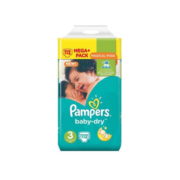 Pampers Baby Dry 3 in voordeelverpakking!