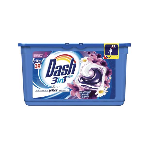 Dash - 3in1 Pods Lavendel met Lenor