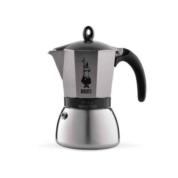 Bialetti Moka Induction Espresso Maker Antraciet 9 Tassen