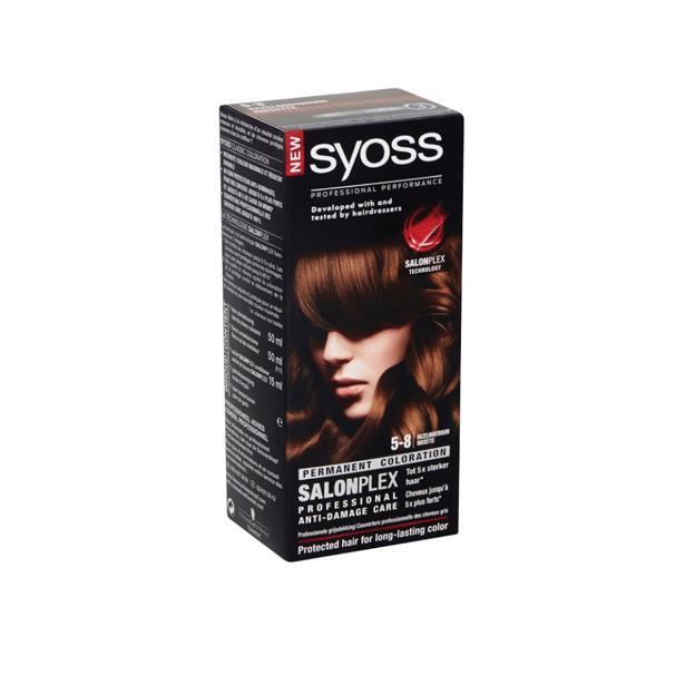 Syoss Hazelnootbruin Professional Performance 5-8 voordeelverpakking