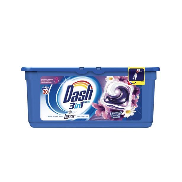 Dash 3 in 1 Pods Lavendel met Lenor