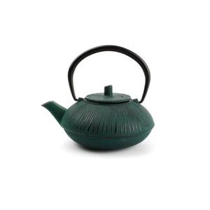 Salt & Pepper Theepot 50cl Gietijzer stripes black/green My Tea 5410595709052