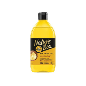 Nature Box Shower Gel Macadamia Oil 5410091744564