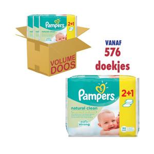 Pampers Babydoekjes Natural Clean 4015400622451
