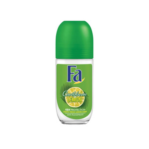 Fa Deodorant Roll-On Caribbean Lemon 5410091728588