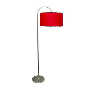 Salt & Pepper Schemerlamp staand 150cm boog rood Mood 9319882372763