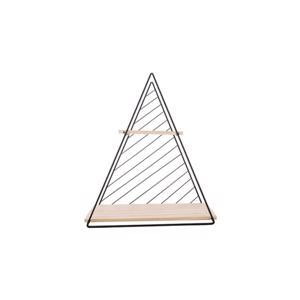 Cosy & Trendy Decorek Triangle Black 37,5 x 11 x h 42 cm 5400586517582