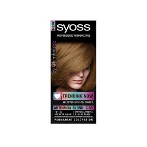 Syoss Autumnal Blond Professional Performance 7-66 5410091747756
