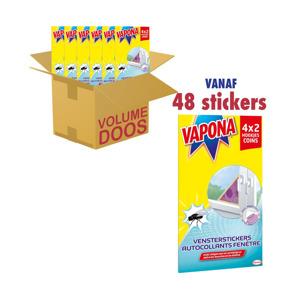 Vapona Vensterstickers Tegen Vliegen 5420067101437