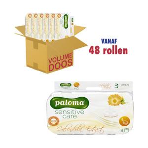 Paloma Toiletpapier Sensitive Care Calendula Extract 4 lagen 3838952022224