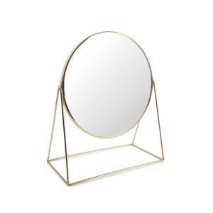 Salt & Pepper Tafelspiegel 30x16xH38cm 2-zijdig goud Beauté 5410595707713