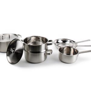 Salt & Pepper Kookset 'Milan' 6-delig RVS 18/10 5410595700608