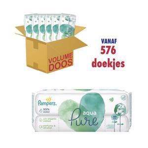 Pampers Aqua Pure Babydoekjes 8001090603357