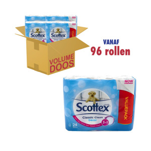 Scottex Toiletpapier Clean Classic Decor 5029053571751