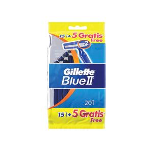 Gillette Blue2 Wegwerpscheermesjes 20 st. 3014260209148
