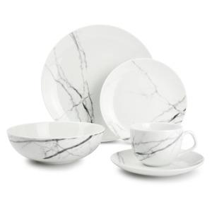 Salt & Pepper Servies 20-delig marble Stone 5410595725762