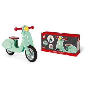 Janod Scooter Mint Balance Bike 3700217332433