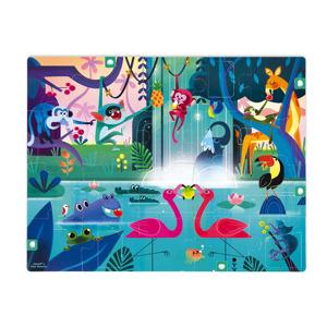 Janod Verrassingspuzzel Feest in de Jungle (20 stukjes) 3700217326876