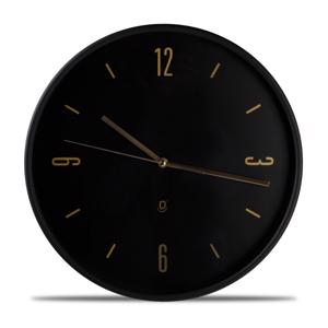 Yong Wandklok O'Time 38 cm Zwart 5410595691074