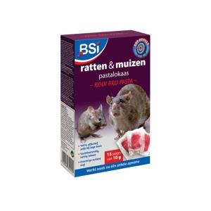 BSI Broma Kill tegen ratten en muizen 6 zakjes van 25 gr.  5420046642098
