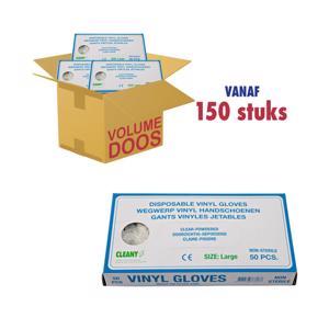 Cleany Handschoen vinyl L 8717438768137