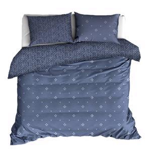De Witte Lietaer Flanel Bedlinnen Snow Nightshadow Blue 260x220/240cm & 2 kussenslopen 5410156531931