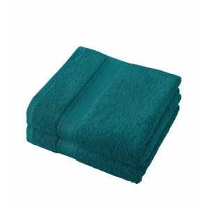 De Witte Lietaer Handdoek Stephanie Lake Green 50x100cm 5410156405959