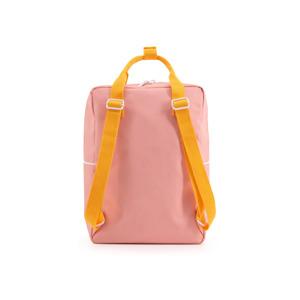 Sticky Lemon Rugzak Large Wanderer Candy Pink+Sunny Yellow+Carrot Orange 7448153436469
