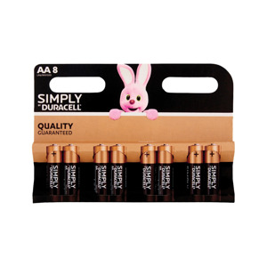 Duracell Simply AA 8-pack 5000394002272
