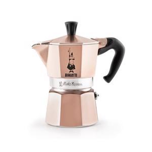 Bialetti Moka Express Espresso Maker Roségold 6 Tassen 8006363027854