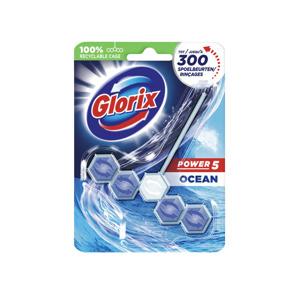 Glorix WC-blokjes Power 5 Ocean White  8710908614644