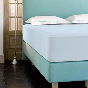 De Witte Lietaer Hoeslaken Case Ice Blue 180x200/220 Hoogte 30cm 5410156526883