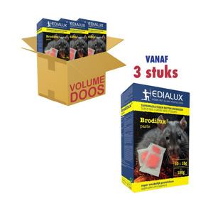 Edialux Superpasta tegen Ratten en Muizen 10 x 15g 5412037065481
