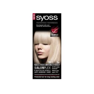 Syoss Pure Blond Professional Performance 10-1 5410091735548