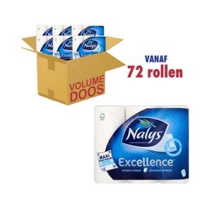 Nalys Toiletpapier Excellence 5 lagen Optimale sterkte 8004260237055