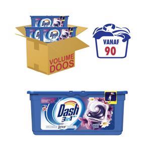 Dash 3 in 1 Pods Lavendel met Lenor 8001090531933