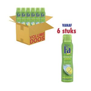 Fa Deodorant Caribbean Lemon 5410091729974