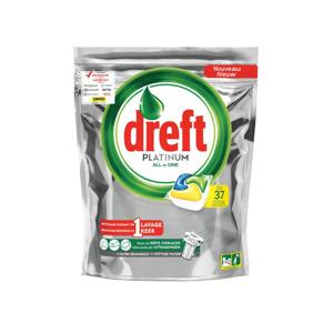 Dreft Platinum All-in-One Citroen Vaatwastabletten 8001841562117