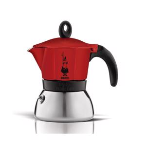 Bialetti Moka Induction Espresso Maker Rood 3 Tassen 8006363007740
