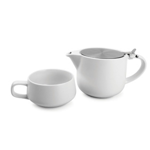 Salt & Pepper Tea for one set 60cl wit Anders 9319882490740