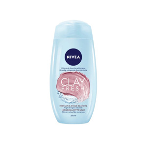 Nivea Douche Clay Hibiscus & Witte salie 4005900593030
