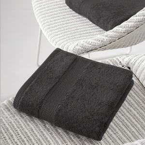 De Witte Lietaer Handdoek Stephanie Ebony 50x100cm 5410156406505