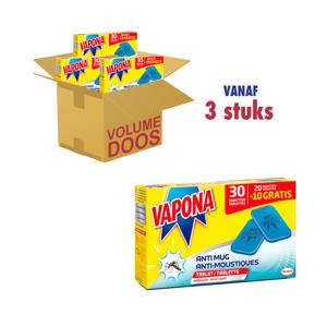 Vapona Anti mug Navullingen Tabletten 5420067100379