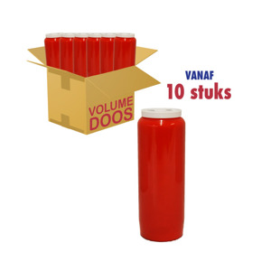 Spaas  Noveenkaarsen Rood 10 stuks 5411708063917