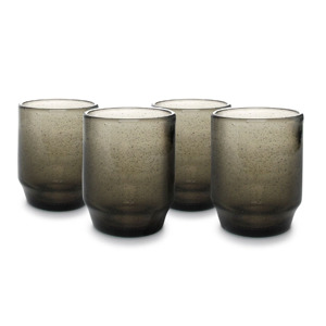 Salt & Pepper Glas 34 cl Smoked Drip (set van 4) 5410595710898