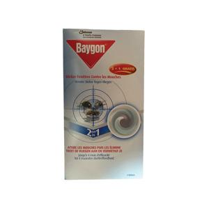 Baygon Venster Sticker Tegen Vliegen 4 st. 5000204762990